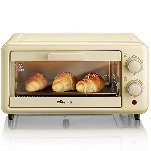 The Toaster |Steam Oven Toaster |12 Cooking Modes -Multi-function Stainless Steel Finish with Timer -Toast -Bake -Broil Settings,Includes Baking Pan and Rack,Toaster Oven,Countertop Oven (Beige11L)