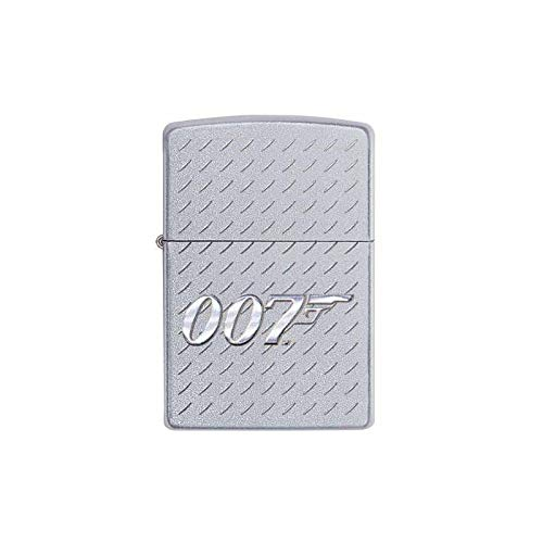 Zippo James Bond Feuerzeug, Messing, Design, 5,83,81,2
