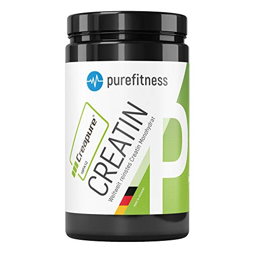 ORIGINAL Creatin (Creapure®) Monohydrat Pulver 450g I 99,99% Reinheit I Vegan I Muskelaufbau Pulver I zertifiziert I Kreatin Pulver geschmacksneutral