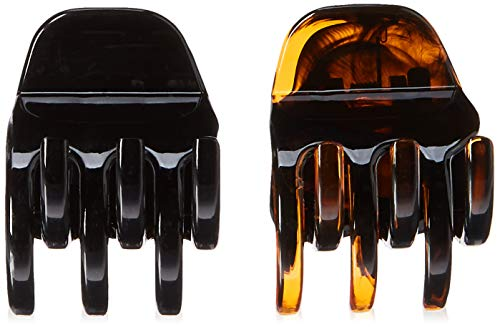 Beauty Shopping Goody 32764 Women's Classics 2 Medium Claw Clips, Pefrect for All Hair Types,