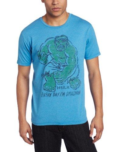 Junk Food t-Shirt Hulk Everyday i m Smashing Clothing - Taille S