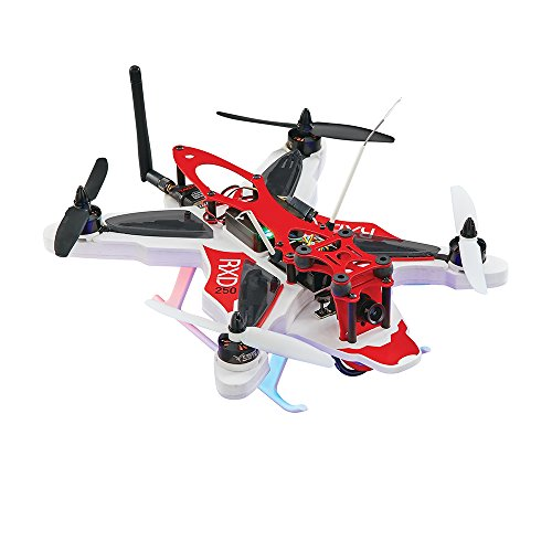 RISE RXD250 Brushless Radio Control Receiver-Ready Extreme Durability Racing Drone with CC3D Flight Controller and Camera Mount