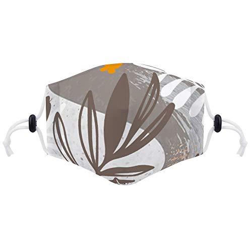 Mond Cover voor Stofbescherming Anti Gezicht Cover Wasbare Oorlus Cover Stofhoes Origineel Ontwerp Boom Vasculaire Plant Behang met Twee PM2.5 Filters