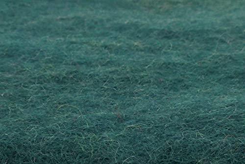feelz - Sitzkissen aus Filz, 35x35cm, blau, grün, Filzkissen, Stuhlkissen, Wolle, Handarbeit, 2,5 cm dick - Fairtrade (Tannengrün)