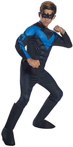 Rubie's DC Comics Deluxe Nightwing Childrens Costume, Medium