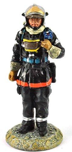 Del Prado Sammelfigur Feuerwehrmann Firefighter Figur Frankreich 2002 1:32 ca. 7 cm Metall