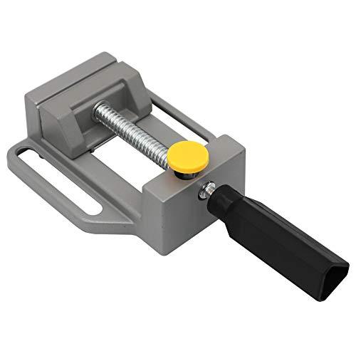 Mini mesa de tornillo de prensa de tornillo de fresado de tornillo de 2.7 pulgadas Plat Alicates abrazadera de banco de mandíbula para herramienta DIY