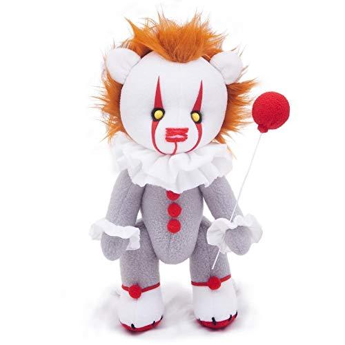 Ginkago Clown Soft Plush Toy, Hochwertig Stofftier Spielzeug Plüschtier Kuscheltier für Babys, Kinder und Erwachsene