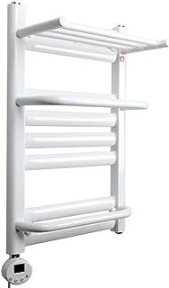 家電製品 Toalleros Eléctricos Calentados, Alta Potencia 600W Radiador Toallero Calefaccion Baño, Protección Antifugas, IPX4 a Prueba de Agua, Fácil de Instalar, Apto para Hoteles Familias