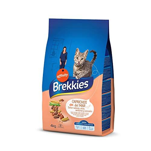 BREKKIES EXCEL alimento para gatos sabor salmón y atún bolsa 4 kg 🔥