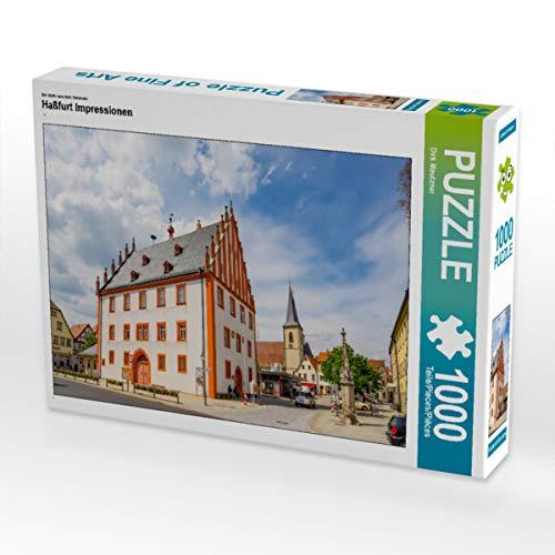 CALVENDO Puzzle Haßfurt Impressionen 1000 Teile Lege-Größe 64 x 48 cm Foto-Puzzle Bild von Dirk Meutzner
