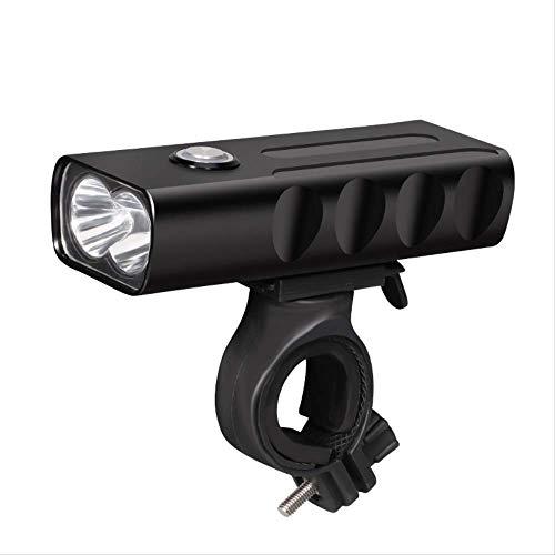 TAOZYY luz de Bicicleta Delantera y Trasera Recargable led USB Potente Lámpara...