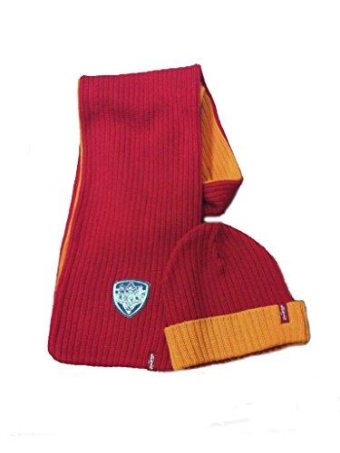 Levi's sjaal en muts voor meisjes, rood/oranje, maat: 1 jaar, 54/60 cm