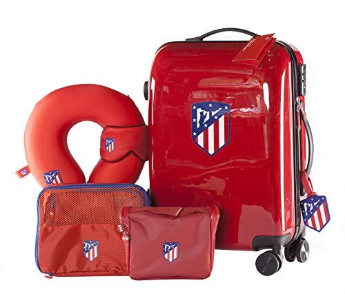 Atlético de Madrid - Pack de Viaje Maleta y Accesorios - Producto...