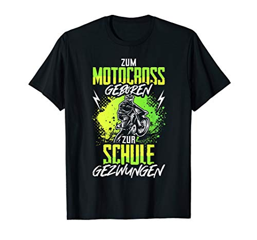 Motorcross Dirt Bike Spruch Enduro Motorrad Motocross Kinder T-Shirt