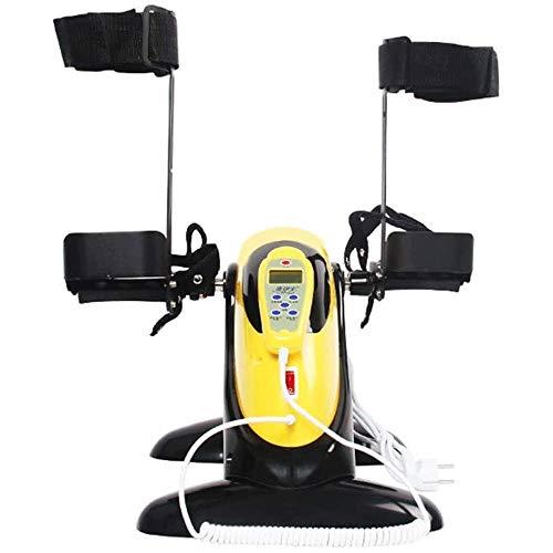 REWD Cyclette Diadora ellittica Mini Cyclette/Fitness motorizzato Elettrico Pedale Ginnico, Regolabile Fitness Equipment Riabilitazione for Anziani, Braccio Mano & Ginocchio Recupero Medical