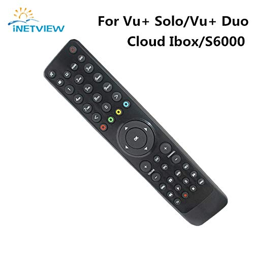 Calvas - Mando a distancia para VU Solo Cloud-ibox Openbox S6000HD VU SOLO PRO (10 unidades)
