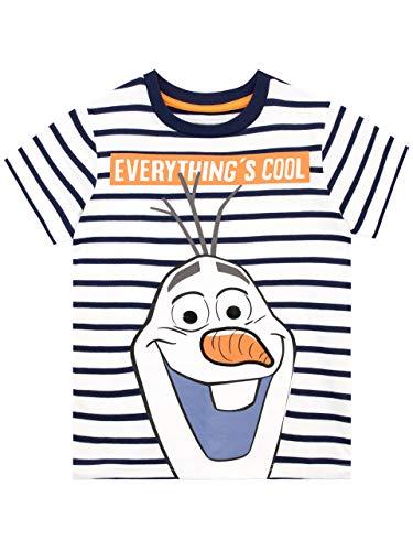 Disney Jungen Die Eiskönigin T-Shirt Frozen Mehrfarbig 98