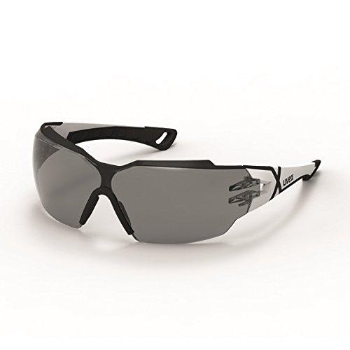 Uvex Pheos CX2 Schutzbrille - Supravision Excellence - Getönt/Weiß-Schwarz