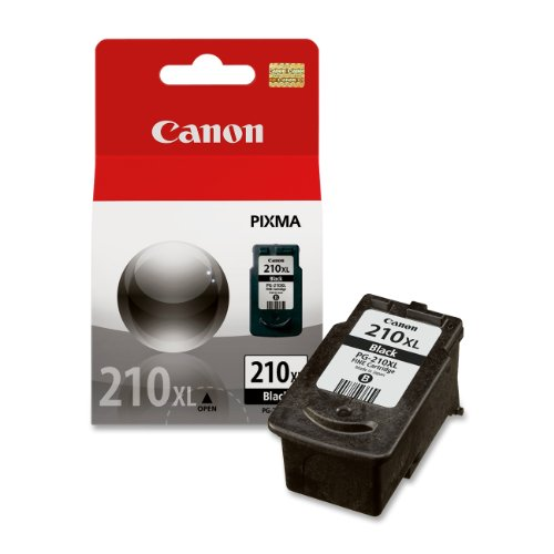 Canon PG-210XL 2973B001AA Pixma iP2700 iP2702 MP230 MP235 MP240 MP282 MP480 MP490 MP495 MP499 MX320 MX410 Ink Cartridge (Black) in Retail Packaging