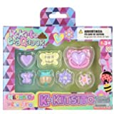 Distroller Juego de Accesorios para Chica de Kkito Evaqator con Chupete, Piercings, Pendientes, botón de Ombligo y más