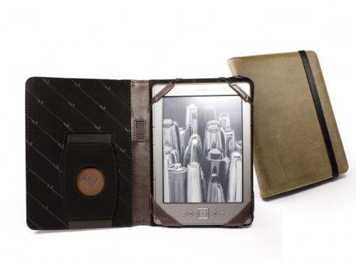 Tuff-Luv A4_17_5055261806323 Custodia a libro Marrone custodia per e-book reader