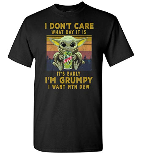 Camiseta con capucha para bebé Yoda I Don't Care What Day It is