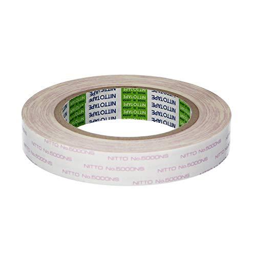ニトムズ 再はく離一般用両面テープ No.5000NS 50mm×20m J1390