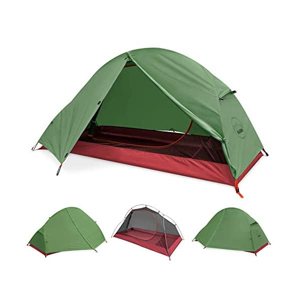 KAZOO-Waterproof-Durable-Tent-Large-Backpacking-Family-Camping-Tents-124-People-Hiking-Lightweight-Tent-124-Person-Aluminum-Frame