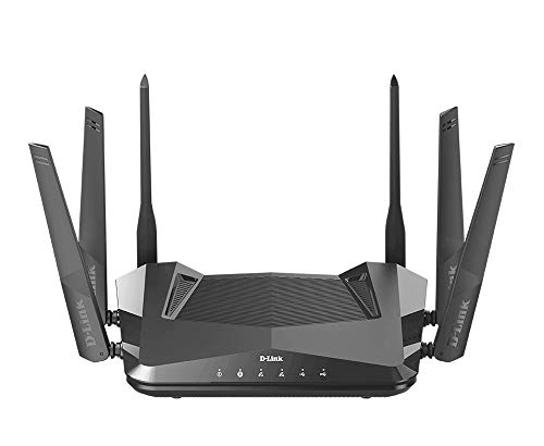 D-Link WiFi 6 Router AX4800 MU-MIMO Voice Control Works with Alexa & Google Assistant, Dual Band Gigabit Gaming Internet Network (DIR-X4860-US)