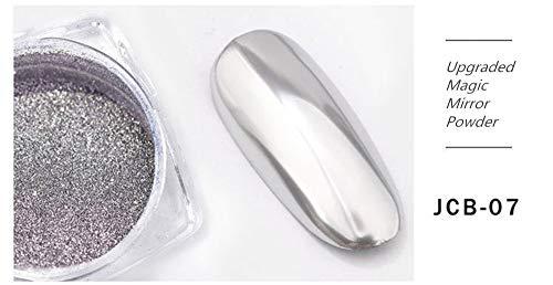 Chonor Nagel Puder Nagel Glitzer Super Magie Mirror Powder Nail Glitter Spiegel Effekt Glitzerpuder...