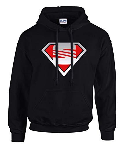 SEAT T Shirt Superman Cupra Leon Ibiza Toledo Funshirt Kapuzenpullover Hoodie -3199 – SW (M)