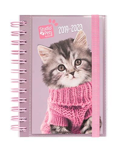 Erik® - Diario Scuola con Planner Giornaliero 2019/2020, 10 mesi - Studio Pets Cats