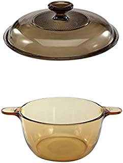 Visions Cookware 2.5 L Bundle - 2.5 L Stewpot and Glass Cover