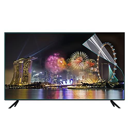 JANEFLY Protector de pantalla de TV de 65 pulgadas, antideslumbrante, antiluz azul, filtro a prueba de polvo, protege tus ojos para afilado, SONY, SAMSUNG, Hisense, LG, etc., 1440 x 809 mm