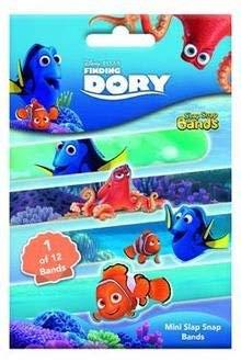 CRAZE 53790 Mini Slap Snap-Bänder, Findet Dory, Mehrfarbig