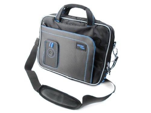 DURAGADGET Maletín con Diseño Innovador para Tablet Artizlee ATL-31 / Winnovo MiTab Pro - En Color Negro Y Azul