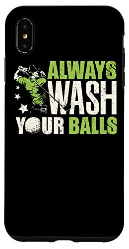 Golf Course Tees Iphone Xs Max Funny Golf Golfing Golfer Gift Always Wash Your Balls Case From Amazon Daily Mail