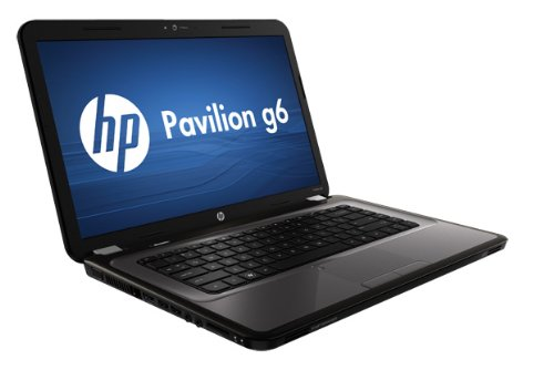 HP Pavilion g6-1319sl - Ordenador portátil (Negro, Gris, Concha, 1.9 GHz, AMD A, A4-3305M, 4 GB)