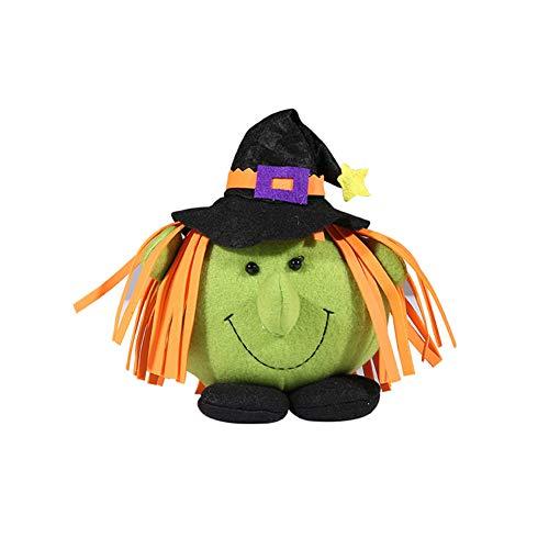 DERKOLY Halloween Zucca Strega Bambola Party Home Showcase Centro della Spesa Bambini Decorazione Regalo