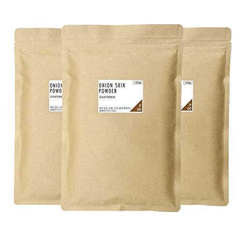 nichie 玉ねぎの皮 100% 国産 粉末 300g(100g×3袋)