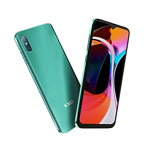 Smartphone Offerta del Giorno, KXD D58 6.22   Waterdrop Schermo 4000mAh Batteria Cellulari Offerte, 2GB 32G 128GB Espandibili Cellulare, 13MP+5MP, Dual SIM Economici Android Telefoni Mobile, Verde