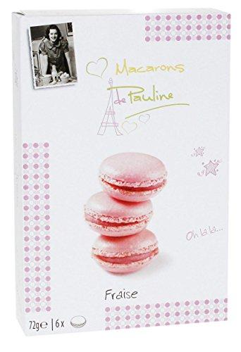 Macarons de Pauline Macarons Erdbeere