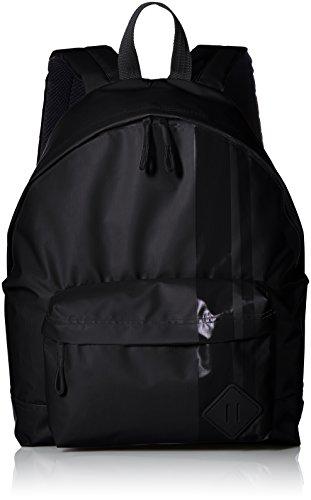Steve Madden Herren Wet Slick Backpack Rucksäcke, schwarz, Einheitsgröße