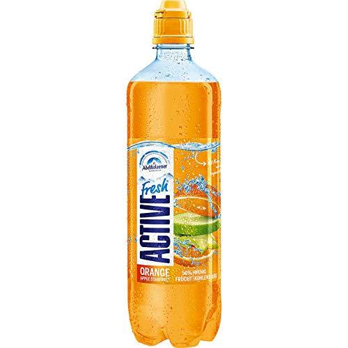 8 Flaschen Active O2 O Two Fresh Orange Apple Starfruit a 0,75l inc. 2,00€ EINWEG Pfand