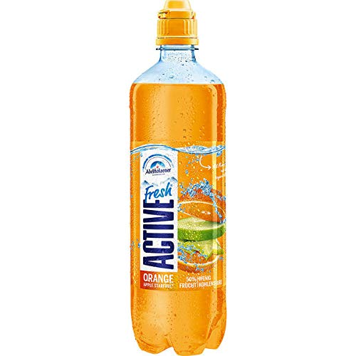 8 Flaschen Active O2 O Two Fresh Orange Apple Starfruit a 0,75l inc. 2,00€ EINWEG Pfand