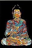 Kying Bunte Drachentätowierung Buddha Zazen Religion