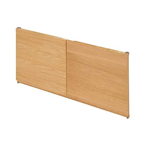 無印良品 スタッキングキャビネット・木製扉(左右セット)・オーク材 厚み2.5×幅38.5×高さ36.5cm 38917878