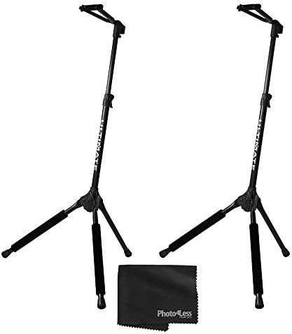 Ultimate Support GS 100 Genesis Series Guitar Stand x2 Photo4Less Cleaning Cloth Deluxe Bundle product image