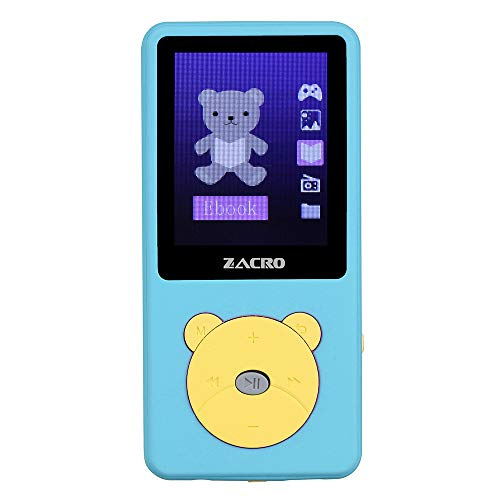 Zacro Reproductor MP3 para Niño 8GB,Reproductor MP3 Niño Pantalla 1.8